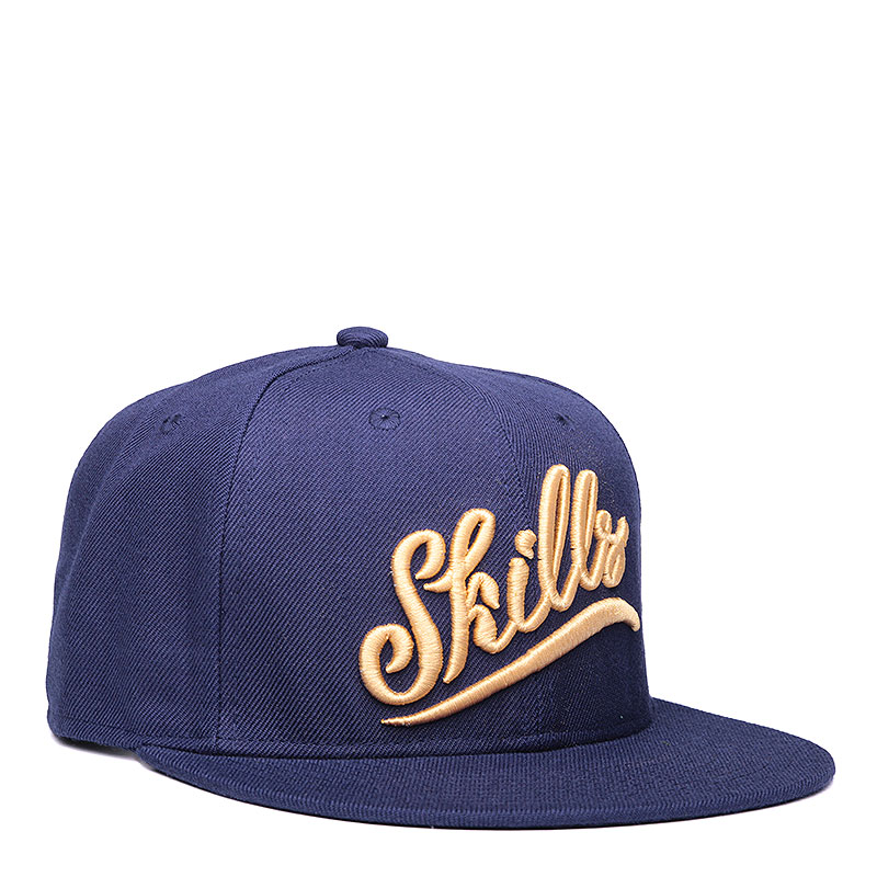 Кепка Skills Skills 02Кепки<br>акрил, шерсть.<br><br>Цвет: синий.<br>Размеры : OS