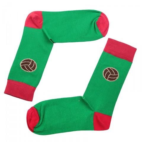мужские зелёные.  носки запорожец heritage футбол Футбол-зел - цена, описание, фото 1