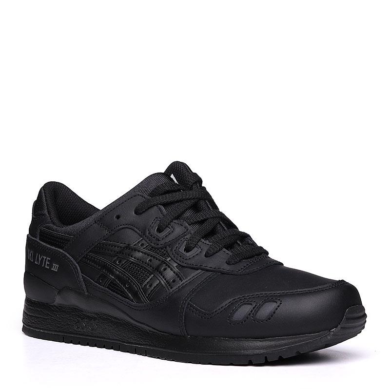 Кроссовки ASICS Tiger Gel-Lyte IIIКроссовки lifestyle<br>кожа, текстиль, резина.<br><br>Цвет: чёрный.<br>Размеры US: 5;8<br>Пол: Мужской