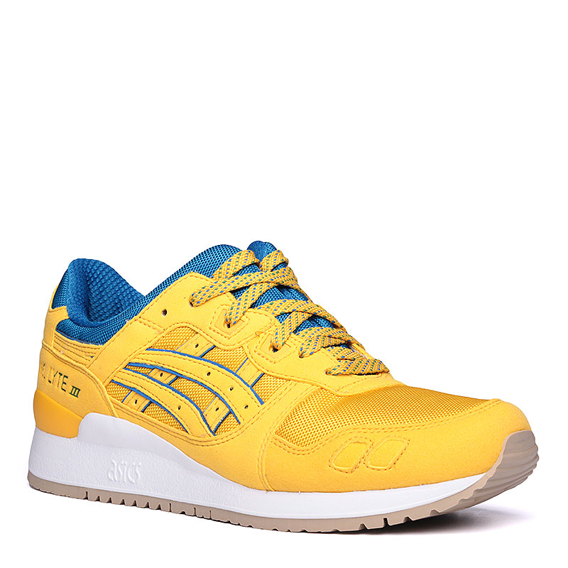 Кроссовки Asics Gel-Lyte IIIКроссовки lifestyle<br>текстиль, резина.<br><br>Цвет: жёлтый.<br>Размеры US: 8;9;9.5;10;10.5;11.5;12<br>Пол: Мужской