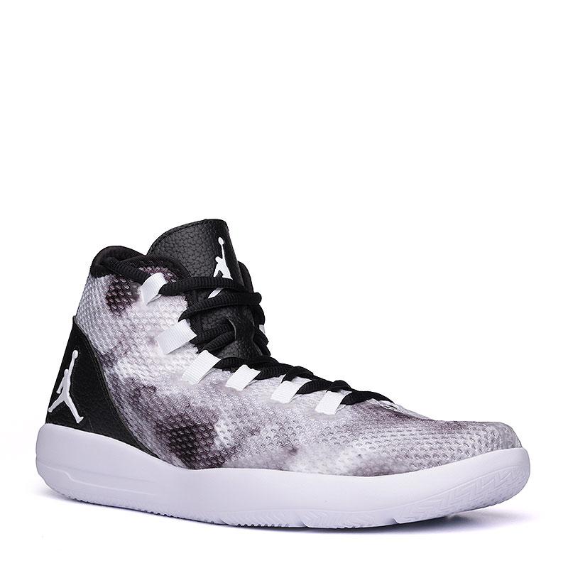 Кроссовки Jordan Reveal PremКроссовки баскетбольные<br>текстиль, синтетика, пластик.<br><br>Цвет: серый, чёрный.<br>Размеры US: 8;8.5;9;9.5;10;11;11.5;12.5;13;14;15<br>Пол: Мужской