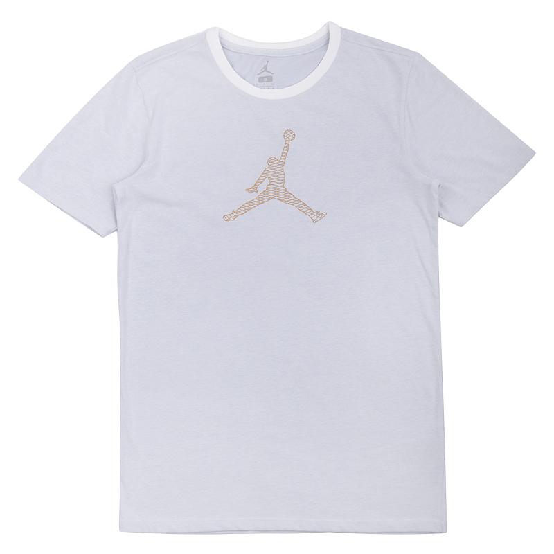 Футболка Jordan Engineered For Flight DF TeeФутболки<br>56% хлопок, 42% полиэстер<br><br>Цвет: Серый<br>Размеры US: M;L<br>Пол: Мужской