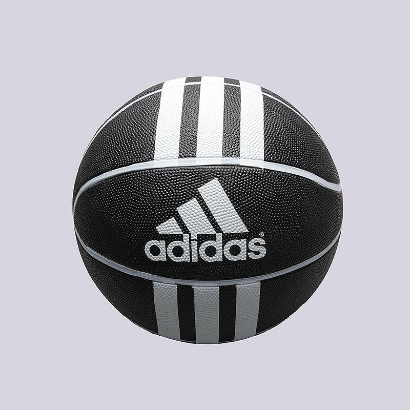 Мяч adidas 3S Rubber XМячи<br>Резина<br><br>Цвет: чёрный, белый.<br>Размеры UK: 7