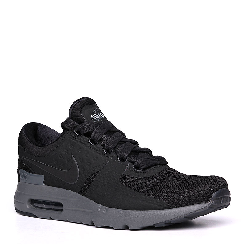 Кроссовки Nike Sportswear Air Max Zero QSКроссовки lifestyle<br>пластик, текстиль, резина.<br><br>Цвет: чёрный.<br>Размеры US: 9<br>Пол: Мужской