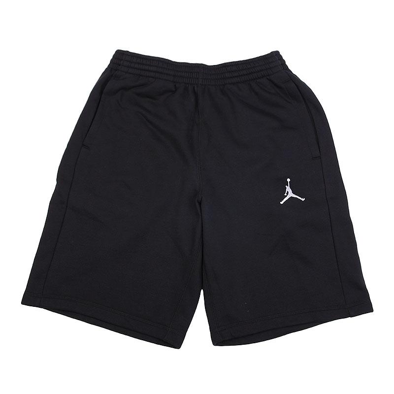 Шорты Jordan Flight Fleece ShortШорты<br>хлопок, полиэстер.<br><br>Цвет: чёрный.<br>Размеры US: S<br>Пол: Мужской