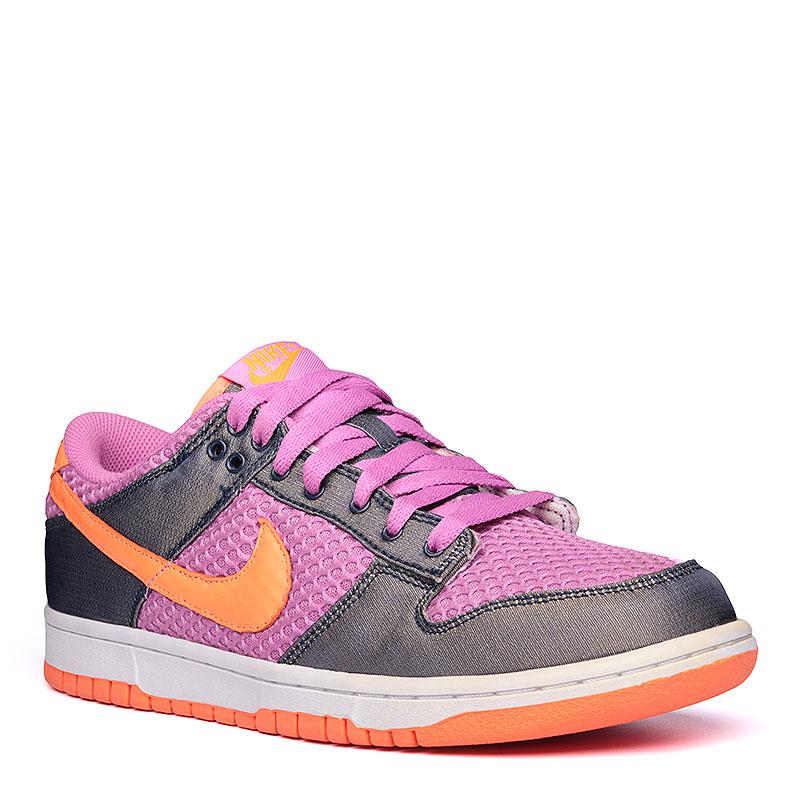 Кроссовки Nike WMNS Dunk LowКроссовки lifestyle<br>кожа, текстиль, резина.<br><br>Цвет: сиреневый.<br>Размеры US: 11<br>Пол: Женский