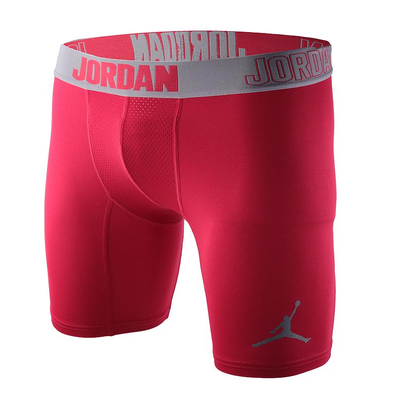 Шорты Jordan 23 Pro Dry 6Компрессионное белье<br>полиэстер, эластан.<br><br>Цвет: красный.<br>Размеры US: S;M;2XL<br>Пол: Мужской