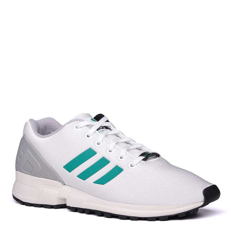 Кроссовки adidas Originals ZX FluxКроссовки lifestyle<br>синтетика, текстиль, резина<br><br>Цвет: Белый<br>Размеры UK: 8;9.5;11.5<br>Пол: Мужской