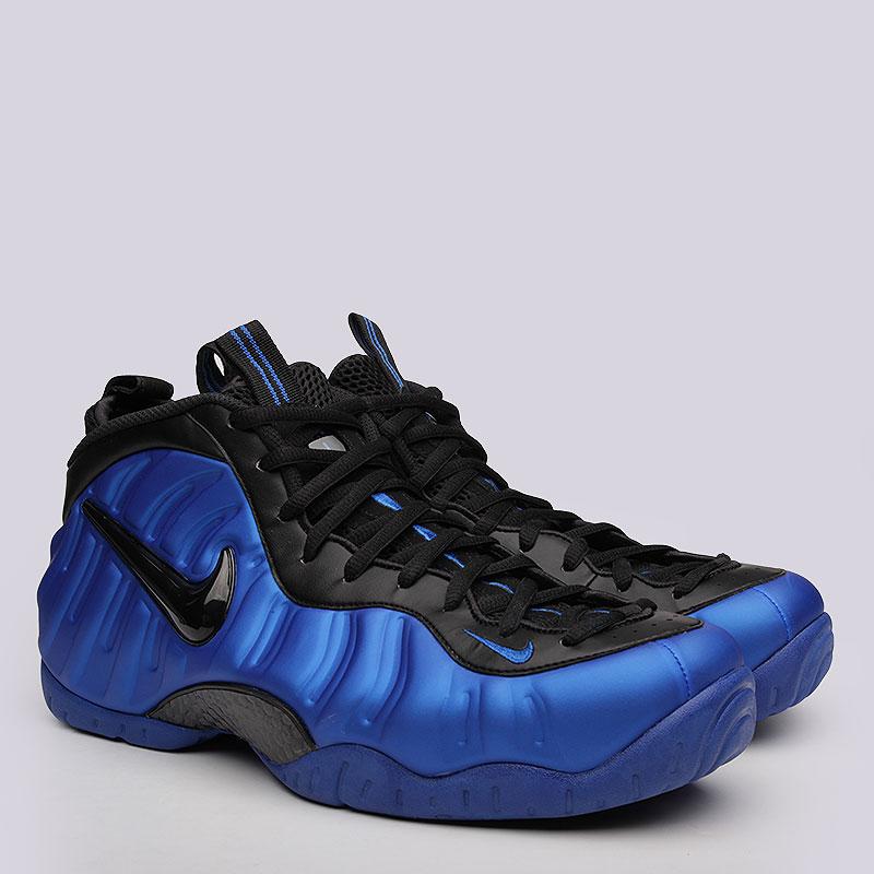 Кроссовки Nike Sportswear Air Foamposite ProКроссовки lifestyle<br>синтетика, текстиль, пластик, резина.<br><br>Цвет: синий, чёрный.<br>Размеры US: 12<br>Пол: Мужской