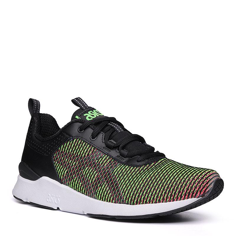 мужские зелёные, розовые. кроссовки asics tiger gel-lyte runner HN6F0-8873 - 2a34d2c9a0e