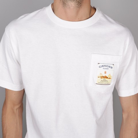 мужскую белую.  футболка the hundreds corp killer t-shirt T16F101065-white - цена, описание, фото 2