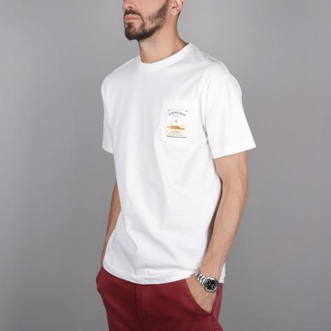 мужскую белую.  футболка the hundreds corp killer t-shirt T16F101065-white - цена, описание, фото 3