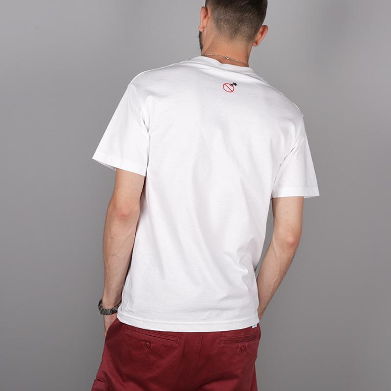 мужскую белую.  футболка the hundreds corp killer t-shirt T16F101065-white - цена, описание, фото 4