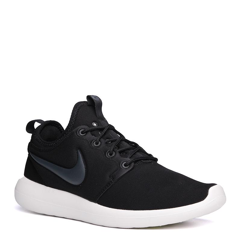 Кроссовки Nike Sportswear Roshe TwoКроссовки lifestyle<br>текстиль, резина<br><br>Цвет: Черный<br>Размеры US: 11;12<br>Пол: Мужской