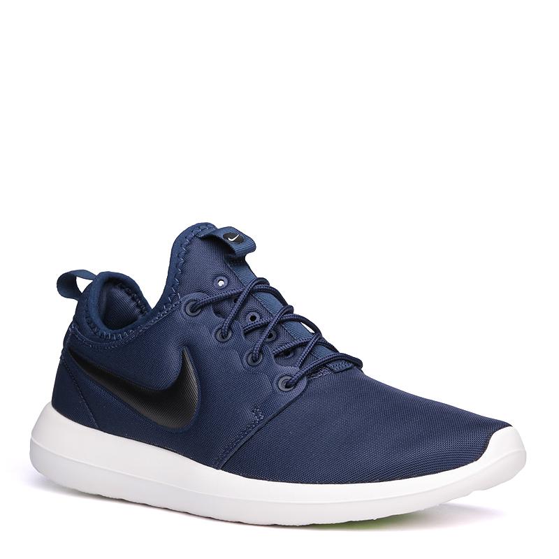 Кроссовки Nike Roshe TwoКроссовки lifestyle<br>текстиль, резина<br><br>Цвет: Синий<br>Размеры US: 8;8.5;10.5;11;11.5<br>Пол: Мужской
