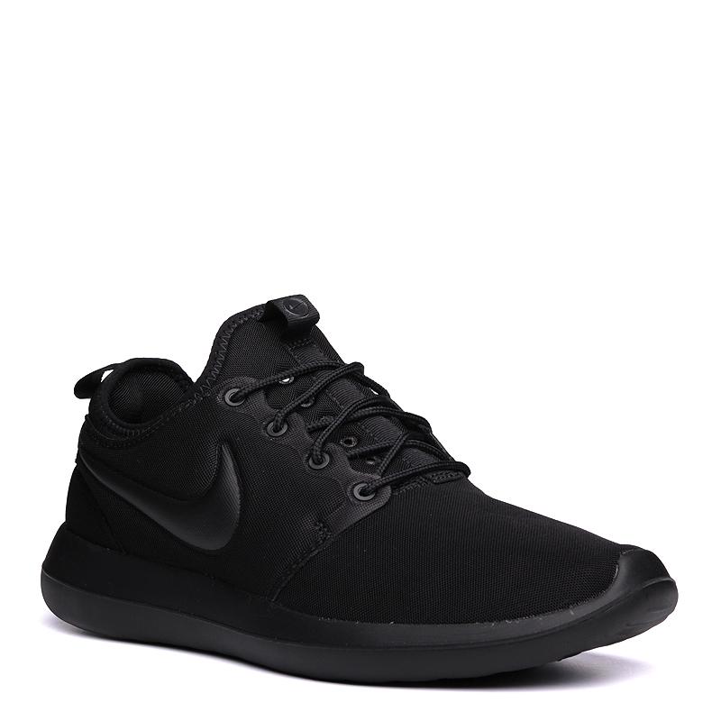 Кроссовки Nike Roshe TwoКроссовки lifestyle<br>текстиль, резина<br><br>Цвет: Черный<br>Размеры US: 8;10.5;11.5<br>Пол: Мужской