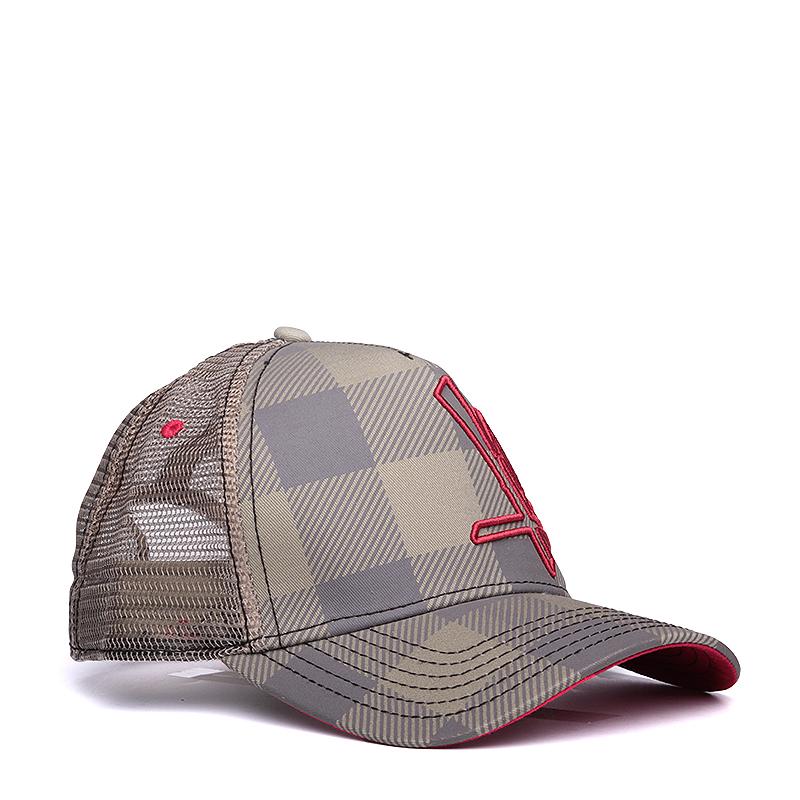 Кепка K1X Jim Trucker CapКепки<br>полиэстер<br><br>Цвет: Серый, красный<br>Размеры US: 1SIZE<br>Пол: Мужской