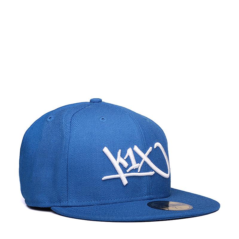 Кепка K1X At Large Tag 59/50Кепки<br>хлопок, полиэстер<br><br>Цвет: Синий<br>Размеры US: 7 3/8<br>Пол: Мужской