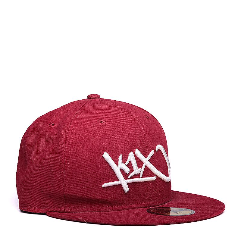 Кепка K1X At Large Tag 59/50Кепки<br>хлопок, полиэстер<br><br>Цвет: Красный<br>Размеры US: 7;7 1/4;7 1/8<br>Пол: Мужской