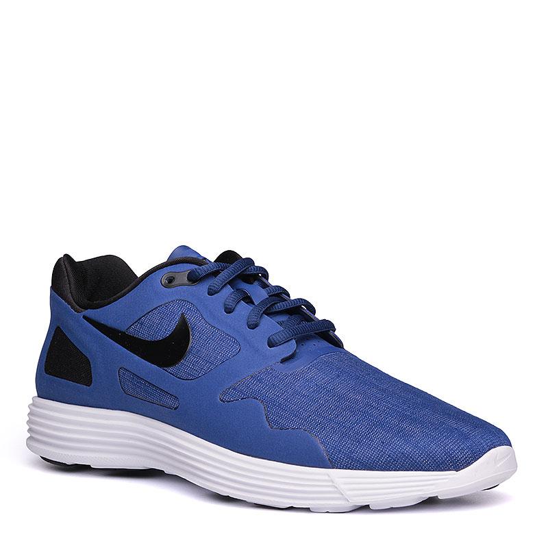 Кроссовки  Nike Lunar Flow SEКроссовки lifestyle<br>текстиль, пластик, резина.<br><br>Цвет: синий.<br>Размеры US: 8<br>Пол: Мужской