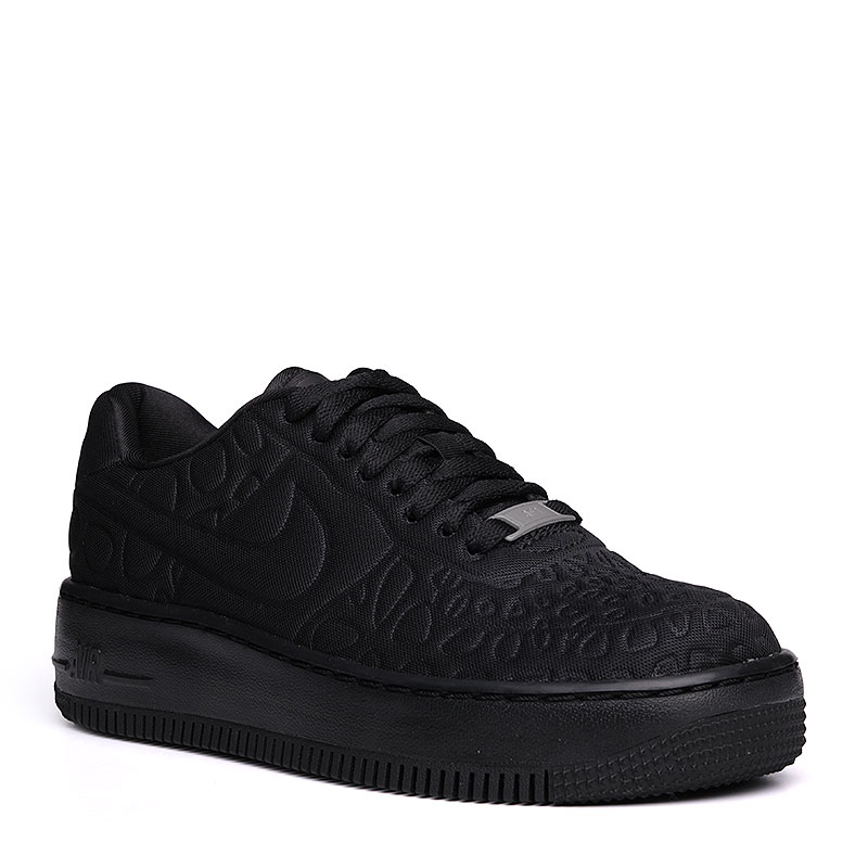 Кроссовки Nike Sportswear WMNS Air Force 1 Upstep SEКроссовки lifestyle<br>текстиль, резина.<br><br>Цвет: чёрный.<br>Размеры US: 6;6.5;7;7.5;8;8.5;9<br>Пол: Женский