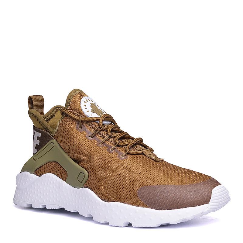 Кроссовки Nike Sportswear WMNS Air Huarache Run UltraКроссовки lifestyle<br>текстиль, пластик, резина.<br><br>Цвет: оливковый.<br>Размеры US: 6;6.5;7;7.5;8;8.5<br>Пол: Женский