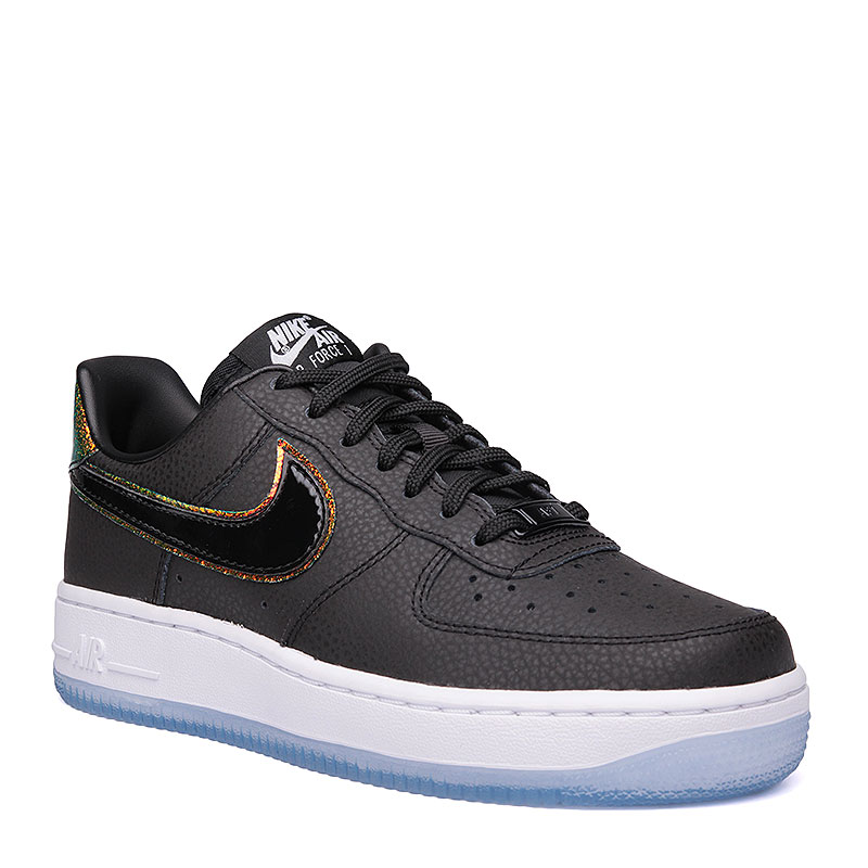 Кроссовки Nike Sportswear WMNS Air Force 1 07 PRMКроссовки lifestyle<br>кожа, пластик, текстиль, резина.<br><br>Цвет: чёрный, белый.<br>Размеры US: 7.5;8.5<br>Пол: Женский
