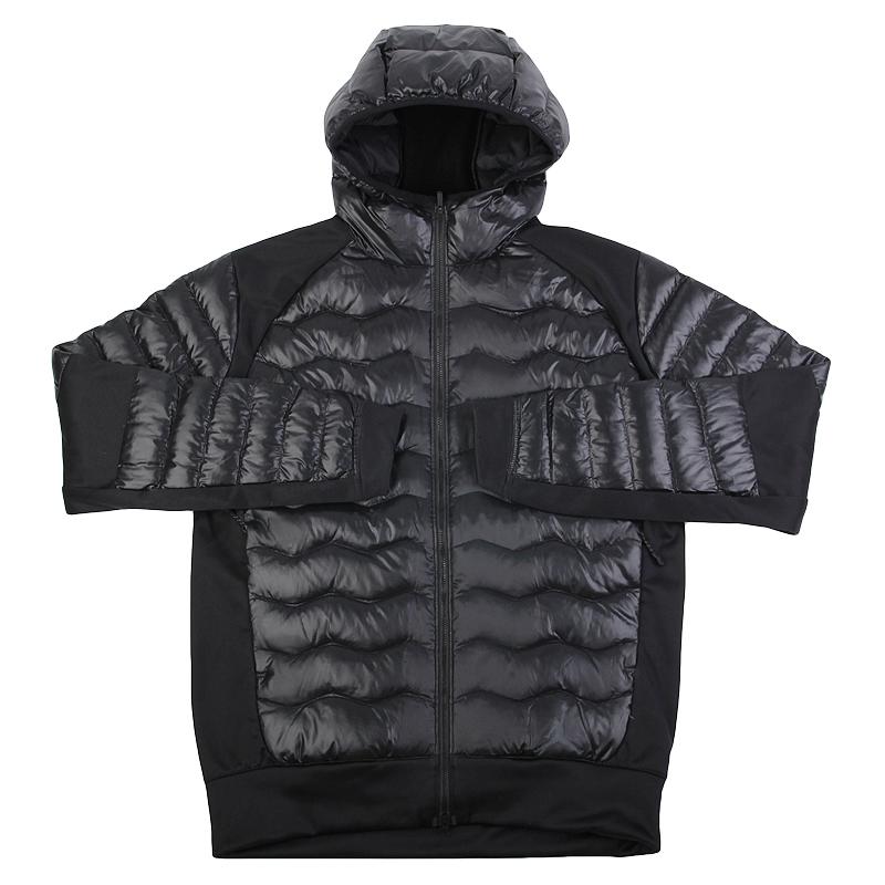 Куртка Jordan PERF HYBRID DWN JKTКуртки, пуховики<br>полиэстер, пух.<br><br>Цвет: Черный<br>Размеры US: M<br>Пол: Мужской