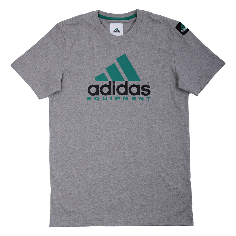 Футболка adidas Originals EQT Logo Grey
