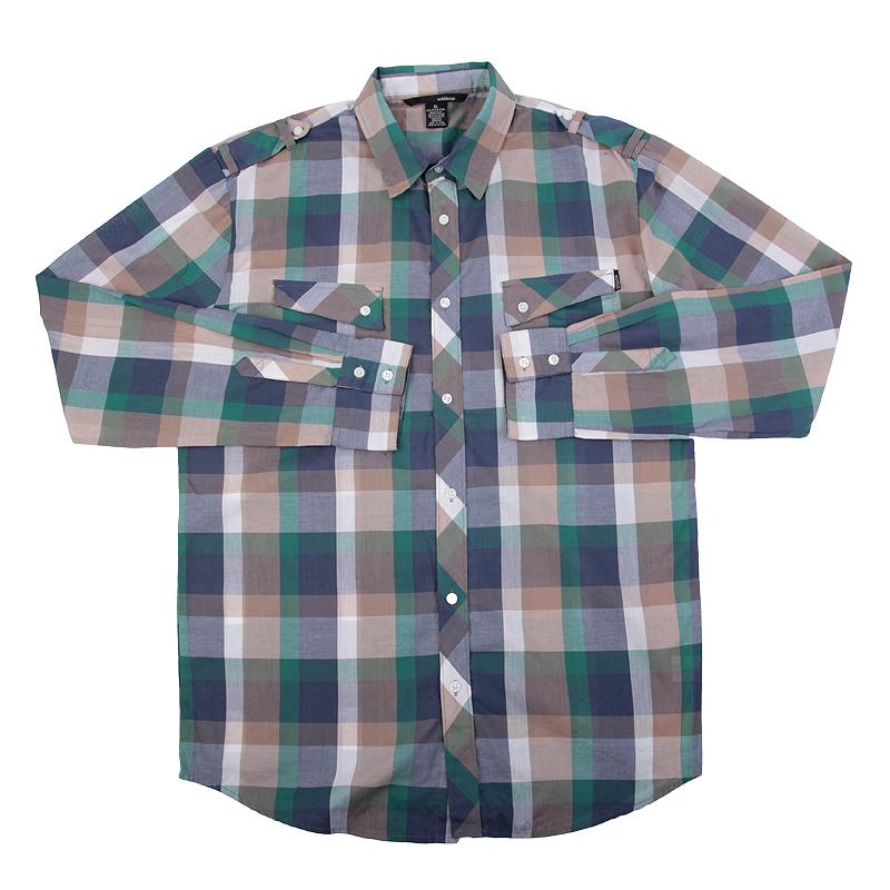 Рубашка AmbiguousПоло рубашки<br>хлопок,спандекс<br><br>Цвет: Синий<br>Размеры US: L<br>Пол: Мужской
