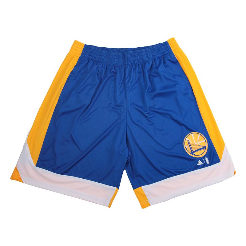 Шорты adidas Warriors ShortsШорты<br>100% полиэстер<br><br>Цвет: Желтый, синий<br>Размеры UK: L;XL;2XL<br>Пол: Мужской