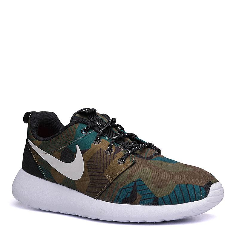 Кроссовки Nike sportswear Roshe One PrintКроссовки lifestyle<br>текстиль, пластик.<br><br>Цвет: камуфляж.<br>Размеры US: 8;8.5;9;9.5;10;10.5;11<br>Пол: Мужской