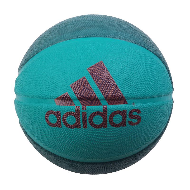 Мяч adidas Dame Icon BallМячи<br>резина.<br><br>Цвет: бирюзовый.<br>Размеры UK: 7