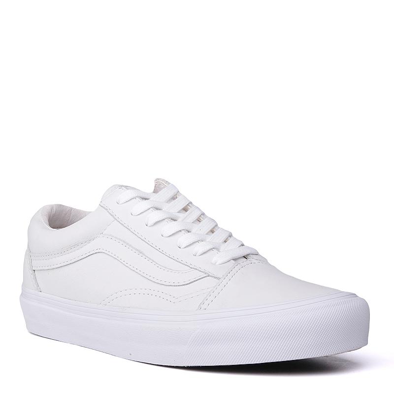 Кроссовки Vans OG Old Skool LX VLКроссовки lifestyle<br>кожа, текстиль, резина<br><br>Цвет: Белый<br>Размеры US: 5.5;6.5<br>Пол: Мужской