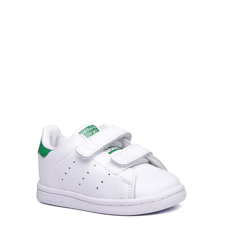 163c5d6d детские белые. кроссовки adidas stan smith cf M20609 - цена, описание, фото  1