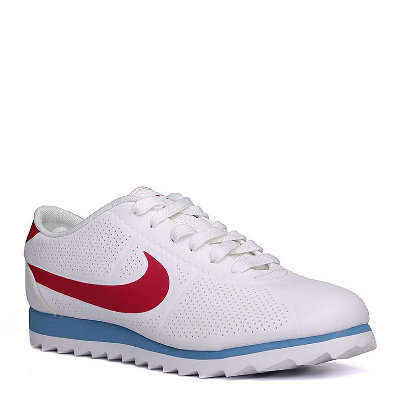 Кроссовки  Nike sportswear WMNS Cortez Ultra MoireКроссовки lifestyle<br>синтетика, текстиль, пластик.<br><br>Цвет: белый.<br>Размеры US: 6;6.5;7;7.5;8;8.5<br>Пол: Женский