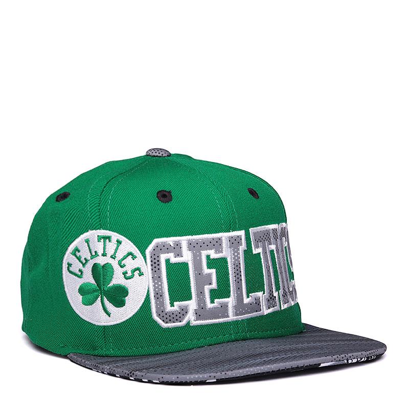 Кепка  adidas Flat Cap CelticКепки<br>шерсть.<br><br>Цвет: зелёный.<br>Размеры UK: L