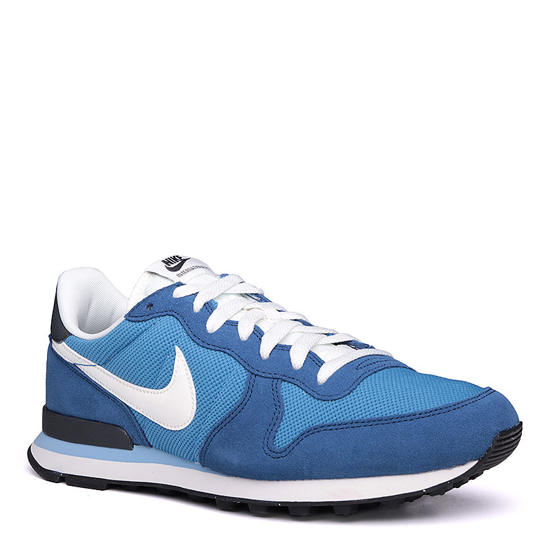 Кроссовки Nike sportswear InternationalistКроссовки lifestyle<br>кожа, текстиль, резина.<br><br>Цвет: синий.<br>Размеры US: 8;8.5;9;9.5;10;10.5;11;11.5;12<br>Пол: Мужской