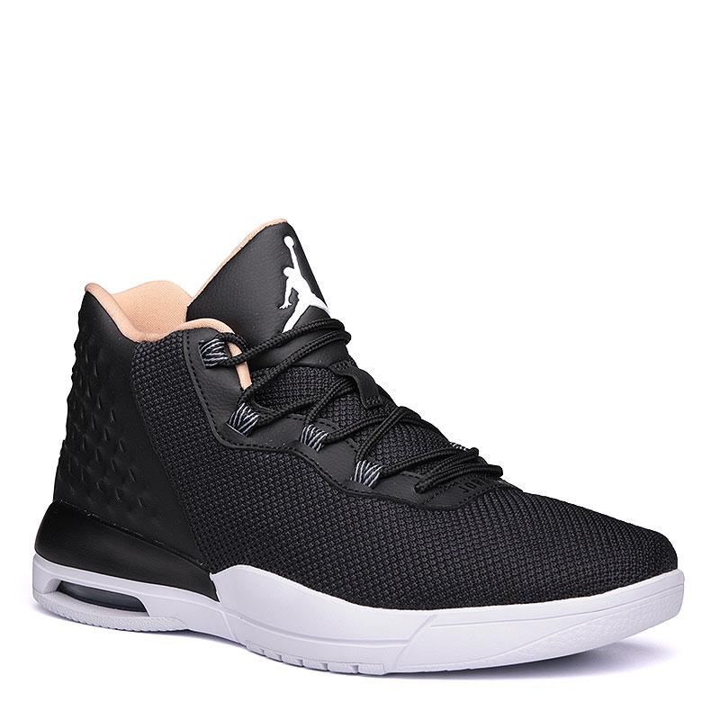Кроссовки Jordan AcademyКроссовки lifestyle<br>синтетика, текстиль, резина, пластик.<br><br>Цвет: чёрный.<br>Размеры US: 12<br>Пол: Мужской
