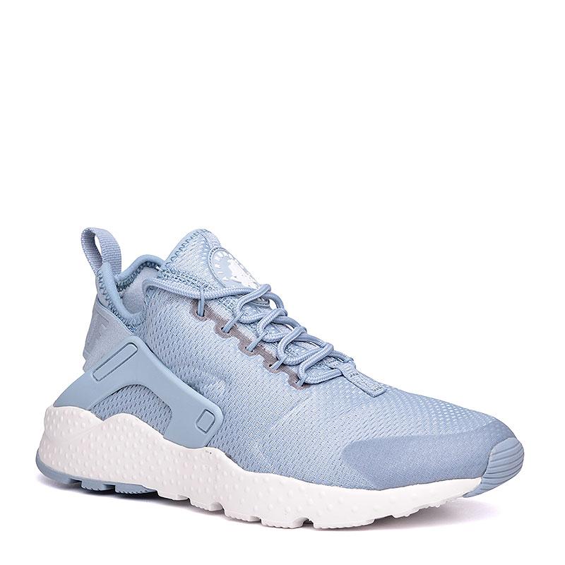 Кроссовки Nike Sportswear WMNS Air Huarache Run UltraКроссовки lifestyle<br>текстиль, пластик, резина.<br><br>Цвет: голубой, белый.<br>Размеры US: 6;6.5;7;7.5;8<br>Пол: Женский