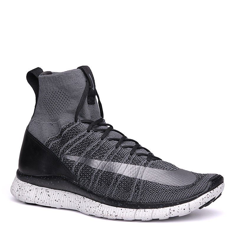Кроссовки Nike Sportswear Free Flyknit MercurialКроссовки lifestyle<br>текстиль, пластик, резина.<br><br>Цвет: серый.<br>Размеры US: 8;8.5;9;9.5;10;10.5;11;11.5<br>Пол: Мужской