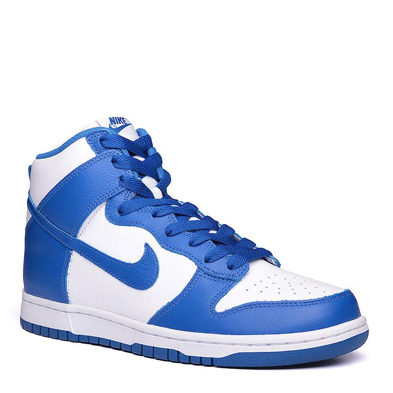 Кроссовки Nike Sportswear Dunk Retro QSКроссовки lifestyle<br>кожа, текстиль, резина.<br><br>Цвет: синий, белый.<br>Размеры US: 11.5<br>Пол: Мужской
