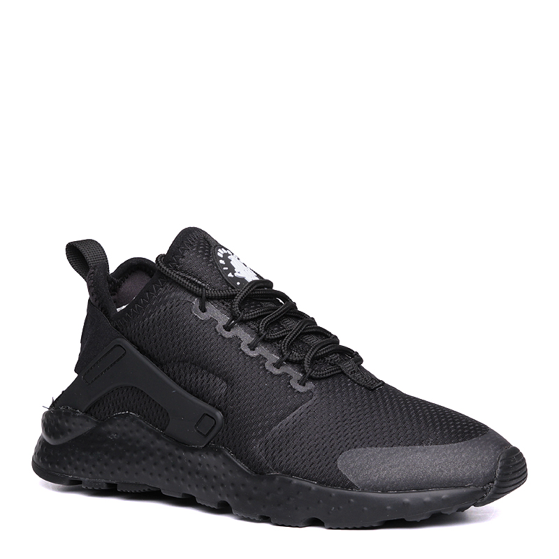 Кроссовки Nike Sportswear WMNS Air Huarache Run UltraКроссовки lifestyle<br>пластик, текстиль, резина<br><br>Цвет: Черный<br>Размеры US: 6;6.5;7;7.5;8;8.5<br>Пол: Женский