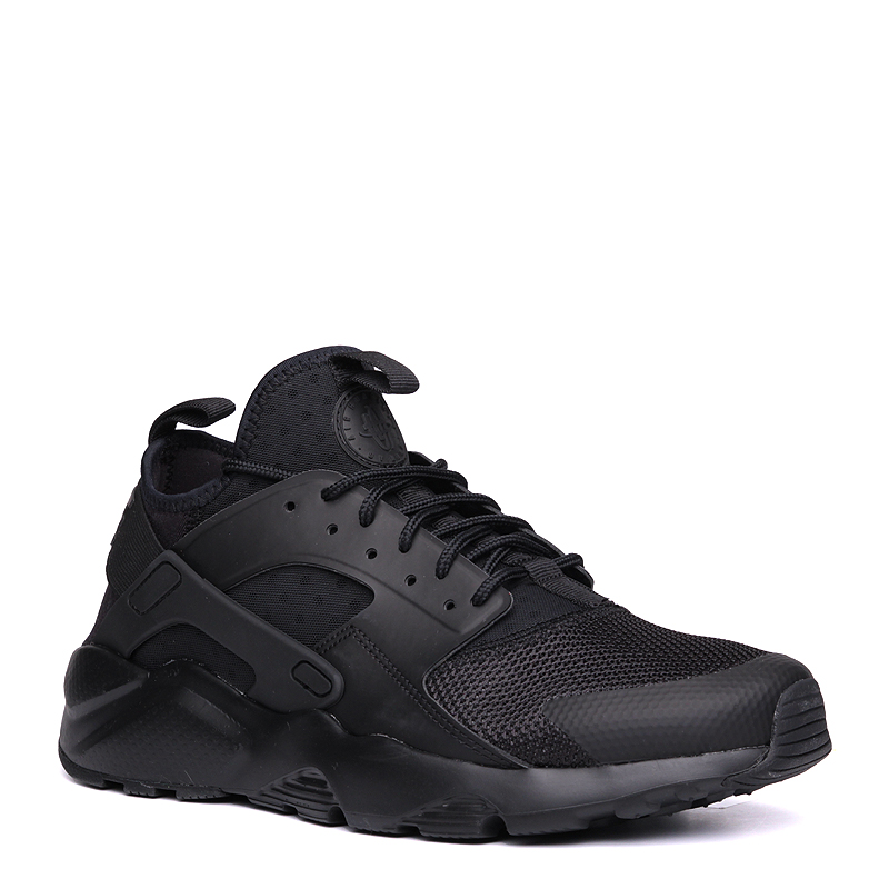 Кроссовки Nike Air Huarache Run UltraКроссовки lifestyle<br>пластик, текстиль, резина<br><br>Цвет: Черный<br>Размеры US: 8;8.5;9;9.5;10;10.5;11;11.5;12;13;15<br>Пол: Мужской