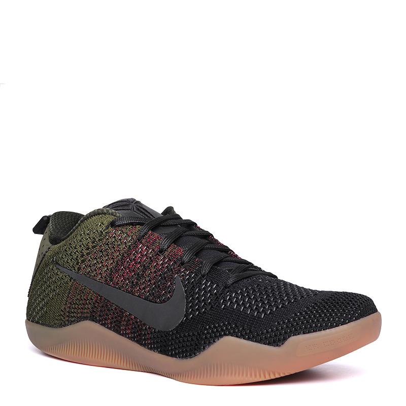 Кроссовки Nike Kobe XI Elite Low 4KBКроссовки баскетбольные<br>синтетика, текстиль, резина<br><br>Цвет: Зеленый<br>Размеры US: 8;9;10;11<br>Пол: Мужской