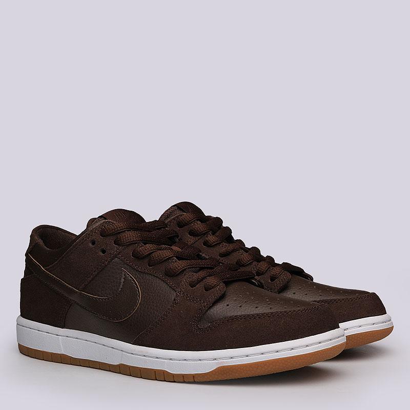 Кроссовки Nike SB Dunk Low Pro IWКроссовки lifestyle<br>Кожа, текстиль, резина.<br><br>Цвет: Коричневый<br>Размеры US: 8;10.5;11.5<br>Пол: Мужской