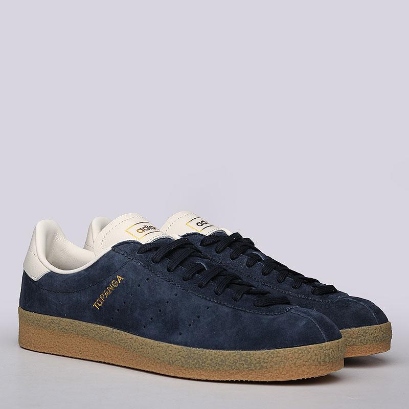 Кроссовки adidas Originals Topanga CleanКроссовки lifestyle<br>Нубук, резина<br><br>Цвет: Синий<br>Размеры UK: 7.5;8;9;9.5;10.5;11.5<br>Пол: Мужской