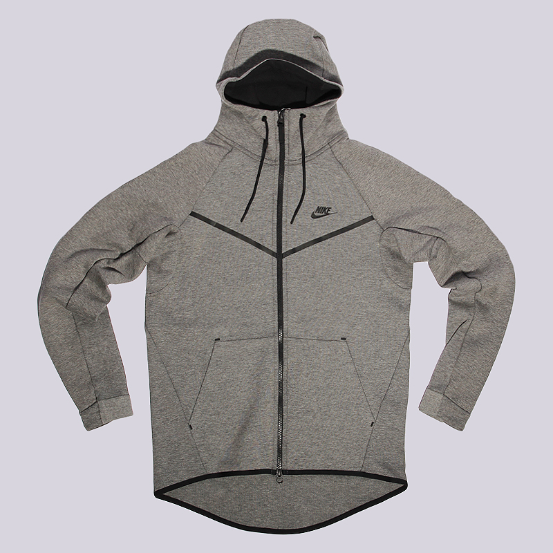 Толстовка Nike Sportswear NSW TCH FLC WR HoodieТолстовки свитера<br>70% хлопок, 30% полиэстер<br><br>Цвет: Серый<br>Размеры US: M<br>Пол: Мужской