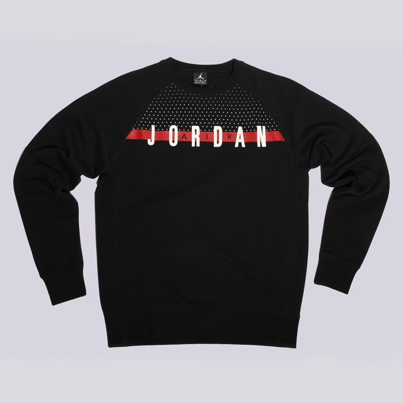 Толстовка Jordan AJ Seasonal Graphic Crew