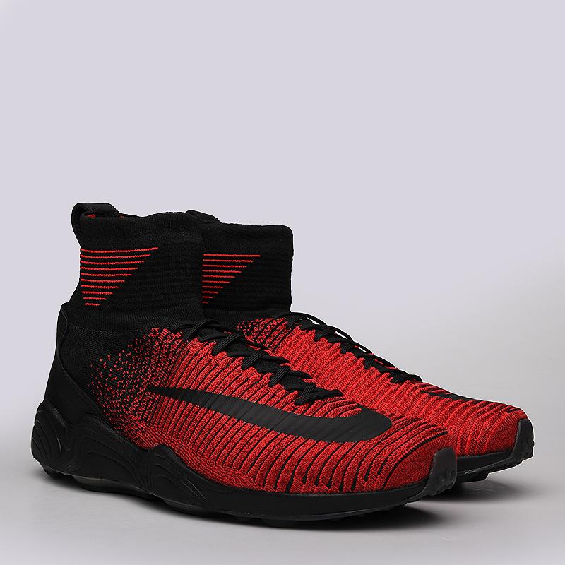 Кроссовки Nike Sportswear Zoom Mercurial XI FK FCКроссовки lifestyle<br>Текстиль, синтетика, резина<br><br>Цвет: Красный, чёрный<br>Размеры US: 8;8.5;9;9.5;10;10.5;11;11.5;12<br>Пол: Мужской